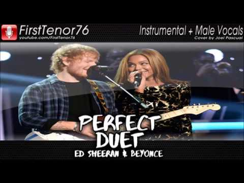 Perfect (Duet Version) - Instrumental and Male Part Only