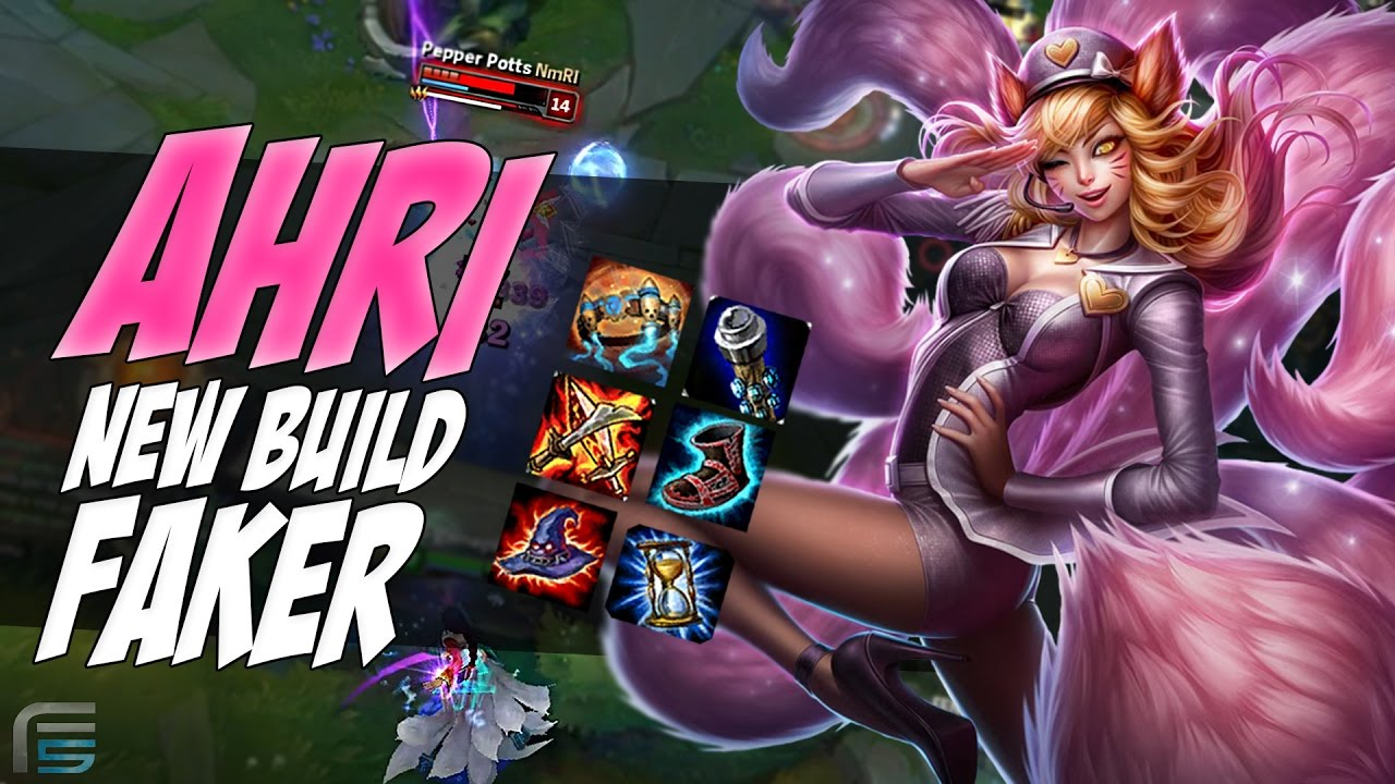 AHRI MID - NOVA BUILD DO FAKER ( ALLSTARS ) - COREANOS SÃO SINISTRO -  League of Legends - [ PT-BR ] - YouTube