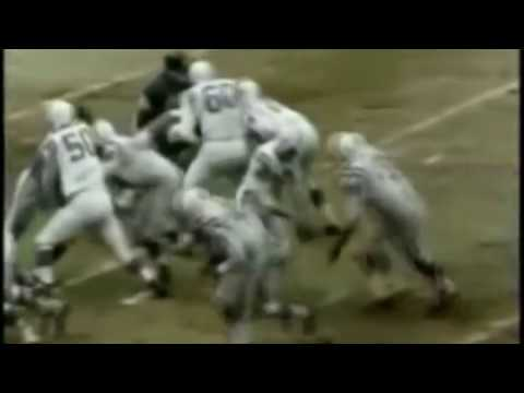 The Greatest Game Ever Played - 1958 NFL Championship Highlights - Colts vs Giants