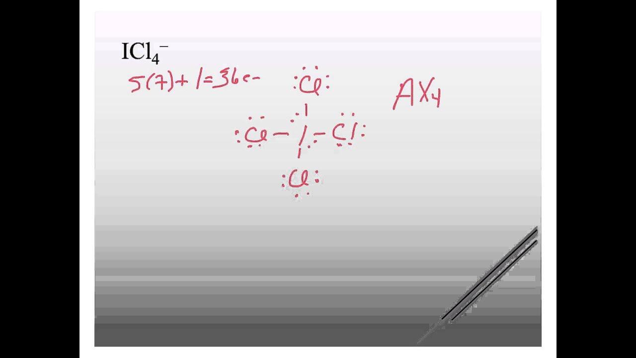 ICl4- geometry - YouTu...