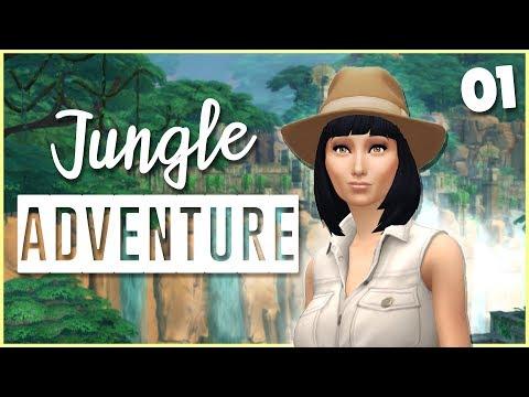 Adventure Awaits! // The Sims 4: Jungle Adventure [1] | Mousie |
