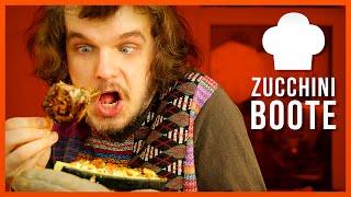 Geile Zucchini Boote - Bestes Rezept