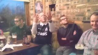 Deaf irish and scot gang ru in Edinburgh 21-3-2015