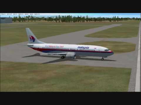 FSX:Malaysia Airlines B737 Terengganu To Kuala Lumpur (MH 1327)