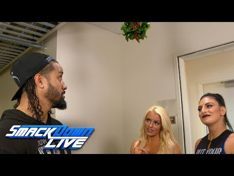 Mandy Rose tries to get Jimmy Uso under the mistletoe: SmackDown LIVE, Dec. 25, 2018