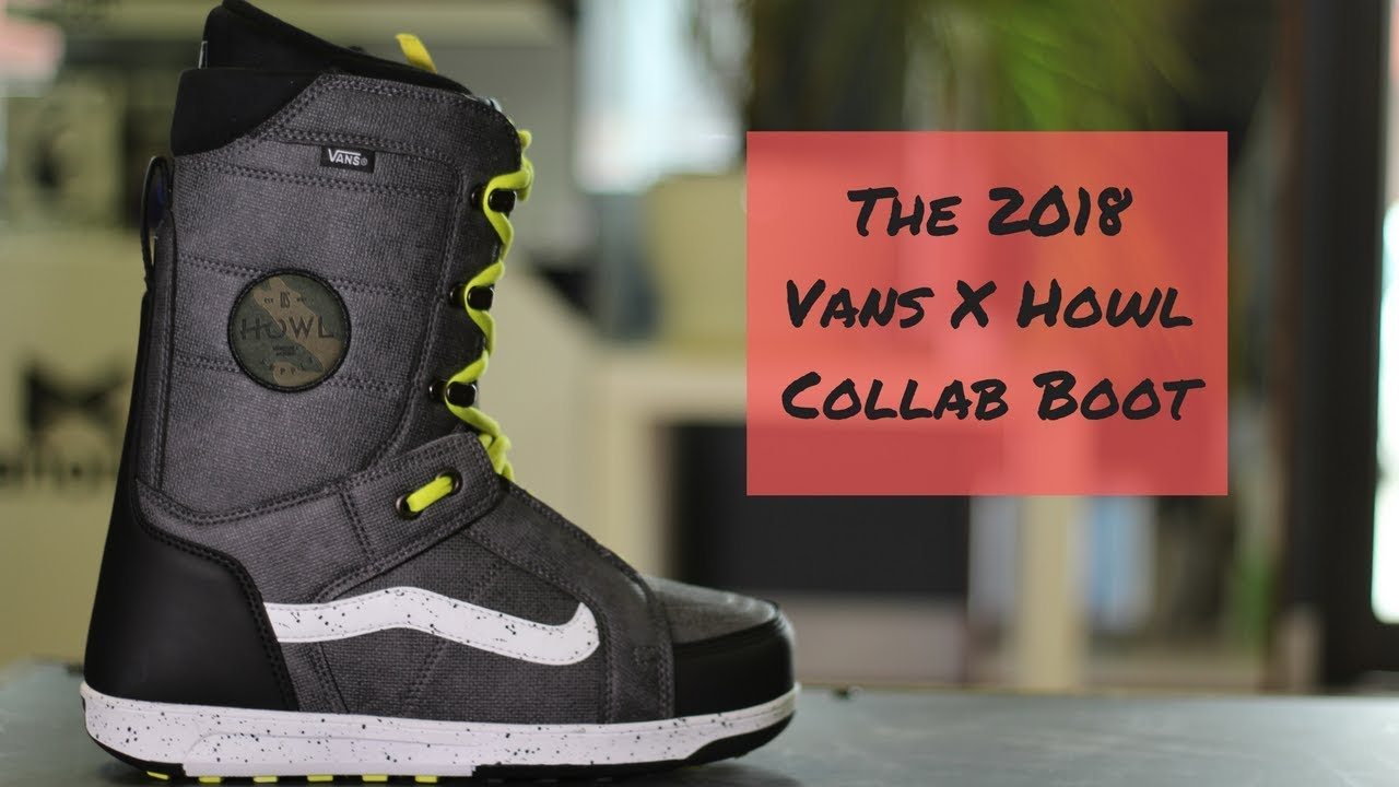 8f3d077ddd The 2018 VANS x HOWL Collab Boot - in under 90 seconds. - YouTube