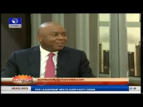 Sunrise Daily: Bukola Saraki speaks on State of the Nation PT1