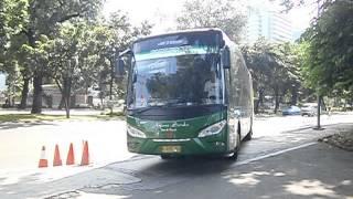 Bus Arjuna Samba Pariwisata JetBus Euro 3