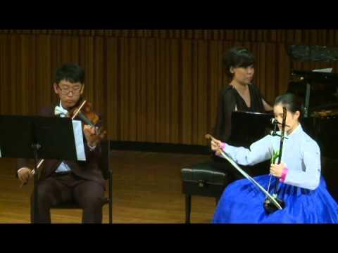 Solo Arirang For Haegeum, Violin And Piano