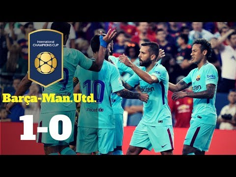 Internatinal Champions Cup: FC Barcelona-Manchester United, 1-0