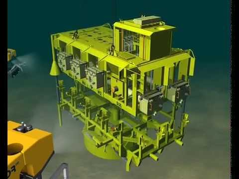Installation of Manifold for offshore drilling