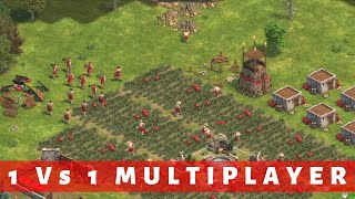1 Vs 1 MULTIPLAYER ► Age of Empires Definitive Edition Multiplayer Gameplay [4K HD Graphics PC XBOX]