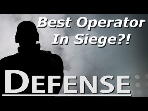 The Best Operator In Siege - Defense