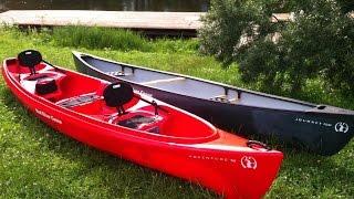 Видеообзор Mad River Canoe Adventure 16 и Journey 156