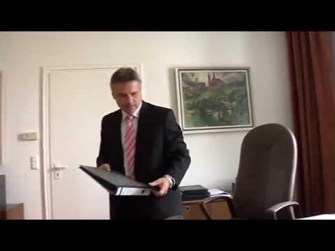 Bericht Peter Dreier - ein Tag mit dem Landrat vom 27. Juni 2014