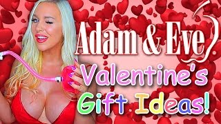 EPIC VALENTINE'S DAY GIFT IDEAS FROM ADAM & EVE! - Sex Ed with Tara