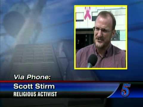 Religious activist reacts to termination