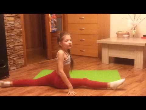 Элементы художественной гимнастики!