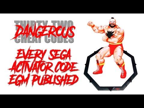 Every Sega Activator Code EGM Published (Cheat Code #25)
