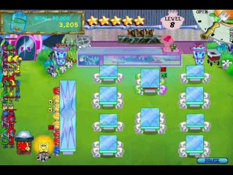 SpongeBob SquarePants Diner Dash (PC) Walkthrough (Part 12)