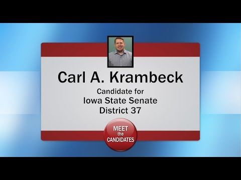 Meet the Candidates 2018 - Senate District 37 General - Carl Krambeck