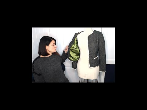 PATTERN REVIEW   Vogue 7975 Lined Jacket