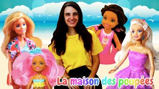 Compilation des vidéos en français sur Barbie et les autres poupées.