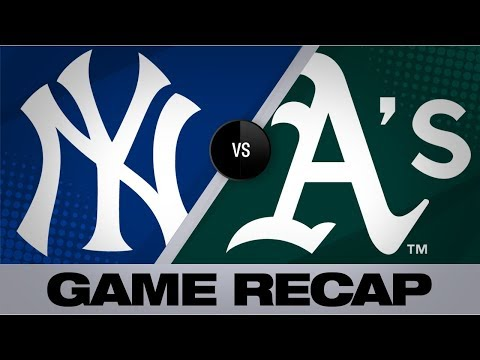 Hendriks secures the A's 6-4 win over Yanks | Yankees-A's Game Highlights 8/21/19
