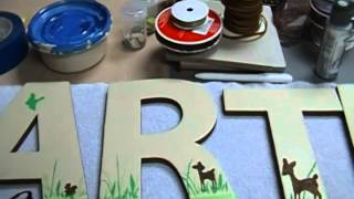 Altered Letters Carter #4 Thumbnail