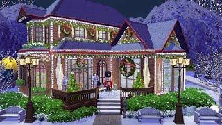 The Sims 4 Строительство: Рождественский дом [Полная версия]