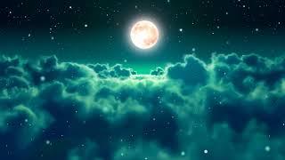 자장가 브람스 아기수면음악 - 달과 푸른 밤하늘 아름다운 - 배경이 예쁘네요