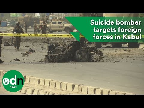 Suicide bomber targets foreign forces in Kabul