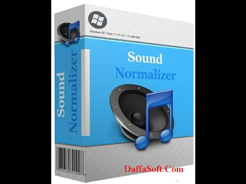 Sound Normalizer 7 5 Full Crack 100%working