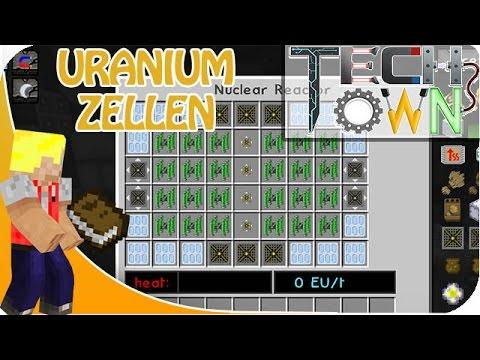 Minecraft TechTown - URANIUM ANREICHERN #44 | CastCrafter