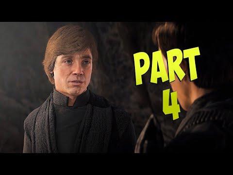 STAR WARS Battlefront 2: Campaign - Ep 4 - MASTER SKYWALKER!!