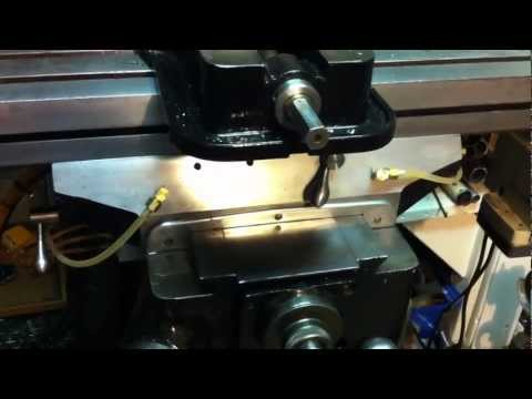 Low cost DIY central way oil oiling system for Bridgeport Milling Machine