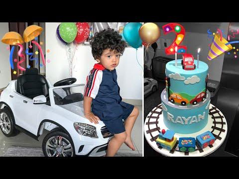 fÊte-d'anniversaire-des-2-ans-de-rayan-🎉🥳🎂