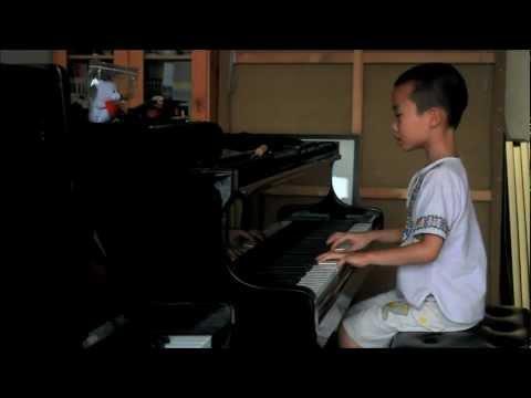 Huang Tiange Plays Bartok Mikrokosmos Vol. 4 No. 115