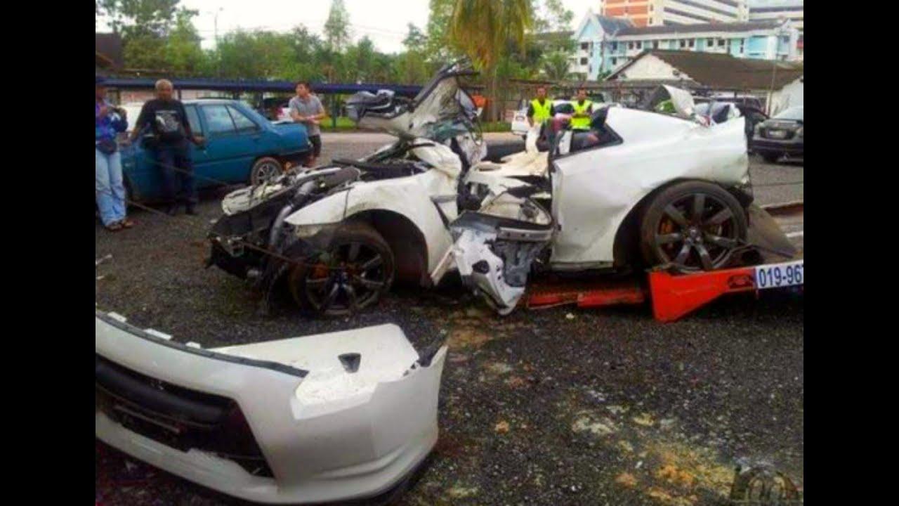 Brutal Nissan Skyline Gtr Crash Compilation Street