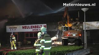 Zeer grote brand Ommen interview veiligheids regio Ijsselland