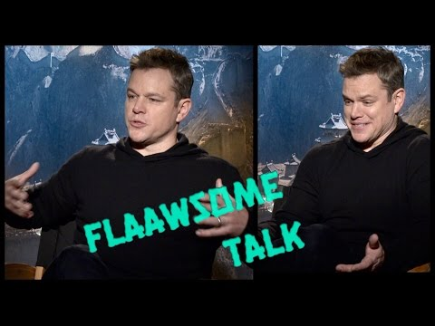 Why Matt Damon doesn't want to take his shirt off, and why he is not as tough as Tom Cruise