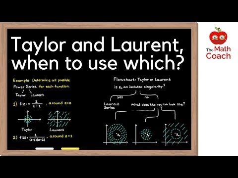 Laurent Series and Taylor Series, when to use which? | Complex Analysis #10