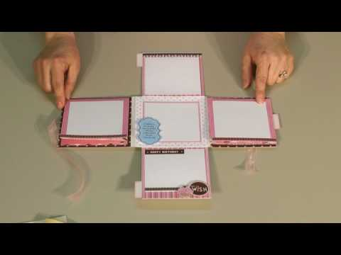 Diane's Paper Art Creations Pocket Journals with squash book fold