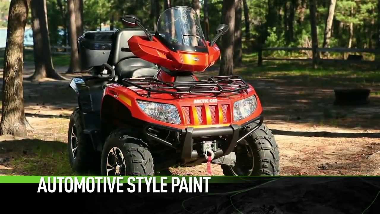 Arctic Cat Atv 2up Recreation 2014 Takes Two To Do The Trv