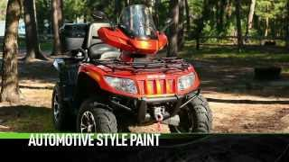 Arctic Cat ATV 2UP RECREATION 2014 Takes two to do the TRV tango.