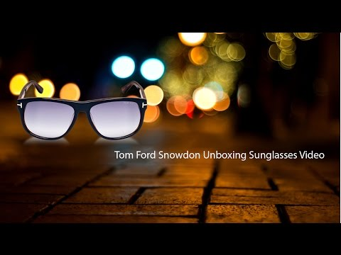 cfcdfee2d7615 Tom Ford Snowdon Sunglasses Unboxing - How to spot a FAKE!  4K