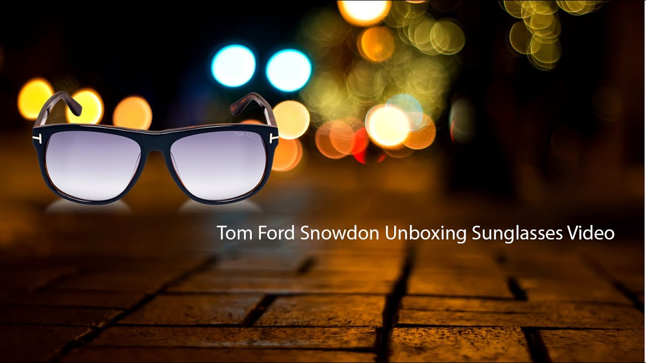 c3fef09c37 Tom Ford Snowdon Sunglasses Unboxing - How to spot a FAKE!  4K ...