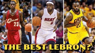 which year was lebron james at his best???