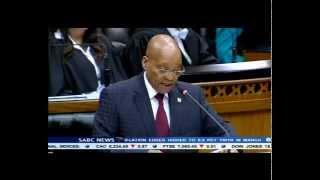 Jacob Zuma condemns xenophobic attacks