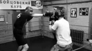 Тренировка по боксу в клубе Titan Health